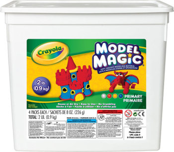 Crayola Model Magic - Assorted - 4 x 225g (900g) Bucket - Each