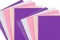Felt - Pastel Assorted - 30 x 30cm - Pack of 10