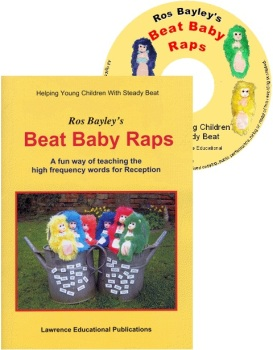 Ros Bayley's Beat Baby Raps Book & C.D - Each