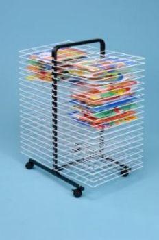 Mobile Drying Rack - 40 Shelf - H107 x W81 x D50cm - Each