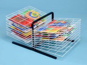 Table Top Drying Rack - 20 Shelf - H36 x L75 x D50cm - Each