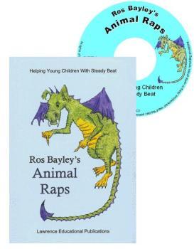 Ros Bayley's Animal Raps Book & C.D - Each