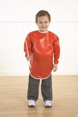 P.V.C Painting Overalls - 3-4 Years - Each