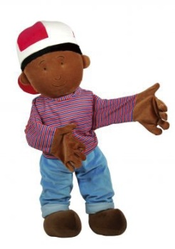 Max Speech & Language Hand Puppet - 85cm - Each