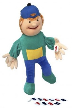 Jake with Numbers Giant Hand Puppet - 70cm - Each