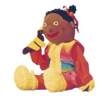 Ruby Speech & Language Giant Hand Puppet - 70cm - Each