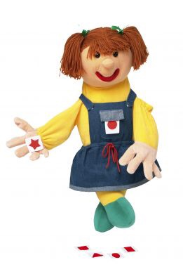 Samantha with Shapes Hand Puppet - 70cm - Each