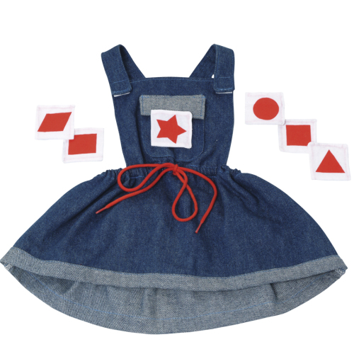 Denim Dress for Giant Puppets - Each