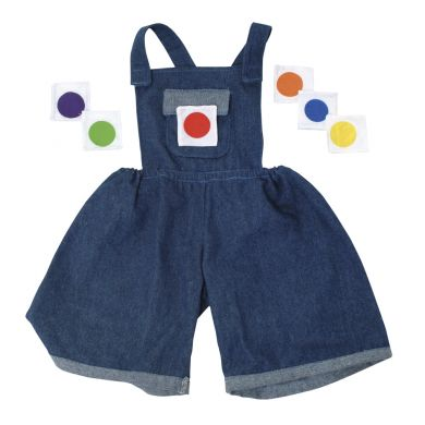 Denim Dungarees for Giant Puppets - Each