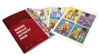 Max & Millie Social Skills Activity Booklet and Cards - Each