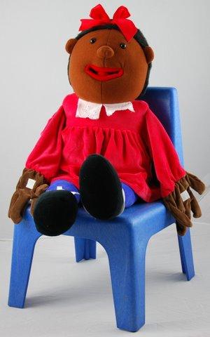 Tina Speech & Language Hand Puppet - 70cm - Each