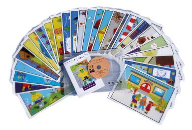 Wibo the Word Monster Storytelling Cards & C.D-Rom - Each