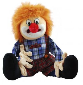 Clown Speech & Language Giant Hand Puppet - 70cm - Each
