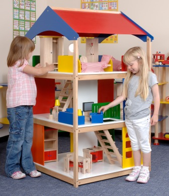 Giant Dolls House - 145 x 86 x 80cm - Each