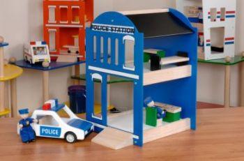 Police Station & Police Car - Per Set