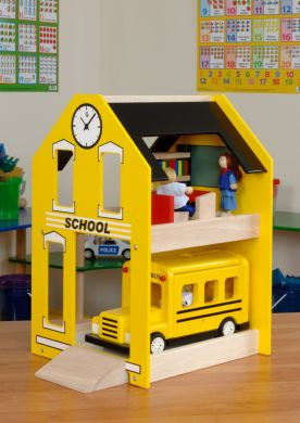 School & School Bus - Per Set