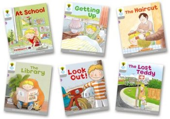 Biff, Chip and Kipper Level 1 - Wordless Stories Pack A - Assorted - Pack of 6