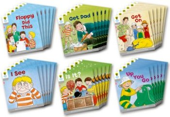 Biff, Chip and Kipper Level 1 - More First Words - Assorted - Class Pack of 36