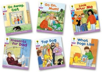 Biff, Chip and Kipper Stories Level 1+ - More First Sentences Pack A - Assorted - Pack of 6