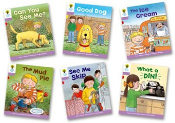 Biff, Chip and Kipper Stories Level 1+ - More First Sentences Pack C - Assorted - Pack of 6