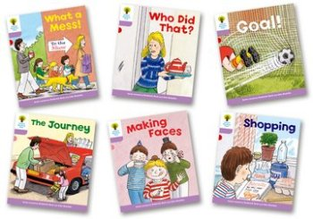 Biff, Chip and Kipper Stories Level 1+ - More Patterned Stories - Assorted - Pack of 6