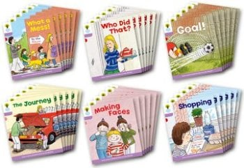 Biff, Chip and Kipper Stories Level 1+ - More Patterned Stories - Assorted - Class Pack of 36