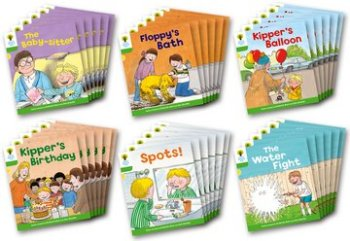 Biff, Chip and Kipper Stories Level 2 - More Stories Pack A - Assorted - Class Pack of 36