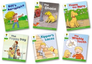 Biff, Chip and Kipper Stories Level 2 - More Stories Pack B - Assorted - Pack of 6