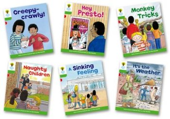 Biff, Chip and Kipper Level 2 - Patterned Stories - Assorted - Pack of 6