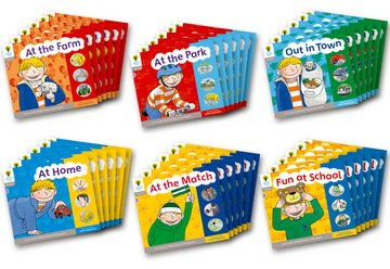 Floppy's Phonics, Sounds and Letters Level 1 - Assorted - Class Pack of 36