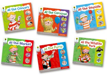 Floppy's Phonics, Sounds and Letters Level 1 Pack A - Assorted - Pack of 6