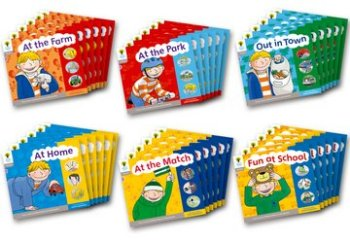 Floppy's Phonics, Sounds and Letters Level 1+ Pack - Assorted - Class Pack of 36