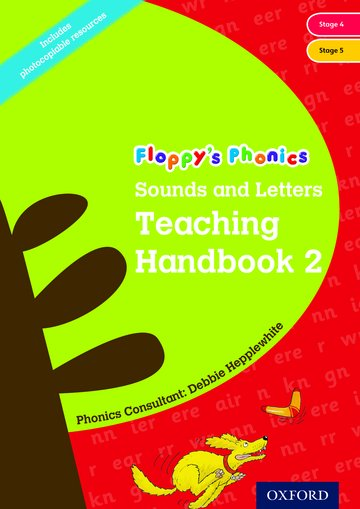 Floppys Phonic, Sounds and Letters Teaching Handbook 2 - Year 1/P2 - Each