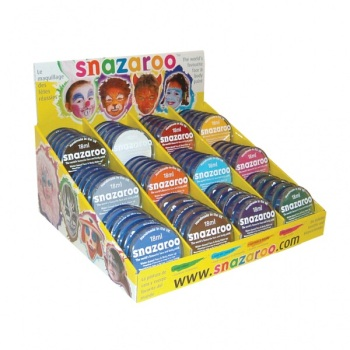 Snazaroo Face Paints - Please Select Colour - 18ml - Each