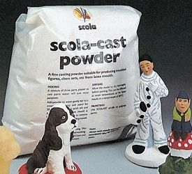 Scola-Cast Powder/Plaster of Paris Bucket - 10kg - Each