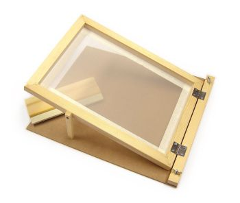 Screen Printing Hinged Frame with Squeegee - A4 - Each