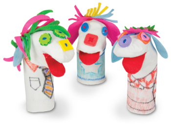 Sockles Puppet Accessory Pack - Assorted - Make 24 Puppets