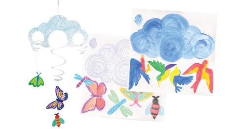 Make a Sky Moblie - 31 x 33cm - Pack of 24