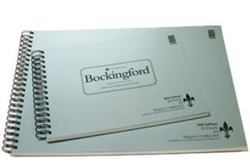 Bockingford Watercolour Fat Pads - 19 x 28cm - 300gms/140lb - Extra Rough - Each