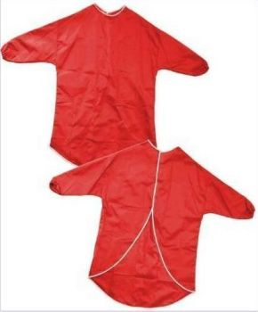 Childrens Play Aprons - Red - Please Select Size - Pack of 10