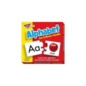 Alphabet Fun to Know Puzzle - Each
