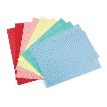 Binca Beginner Cross Stiich Fabric - Select Colour - 50cm x 1m - Each