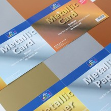 Metallic Paper - Please Select Colour - A4 - 135gsm - Pack of 20
