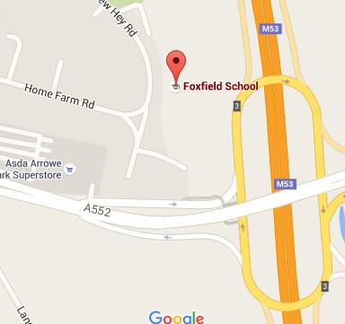 foxfield map