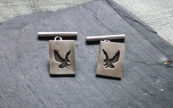 Eagles theme cufflinks