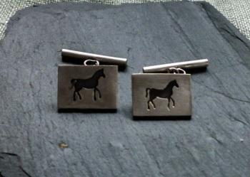Horse theme cufflinks