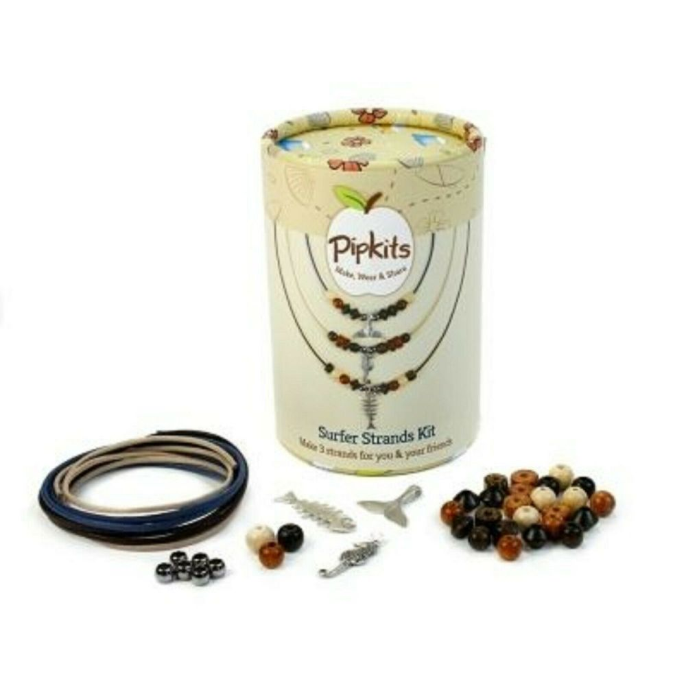 Pipkits Jewellery Making Bead Necklace Kit - Surfer Strands
