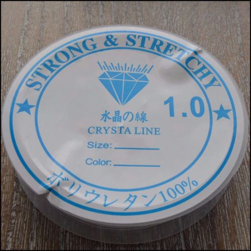 1mm  Clear Stretch Jewellery Elastic