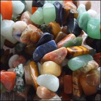 Assorted Semi Precious Gemstone Chips