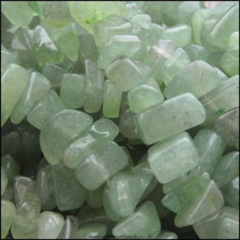 Green Aventurine Gemstone Stone Chip Beads